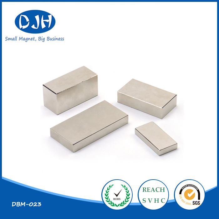 Permanent Sintered Rare Earth Block Neodymium Iron Boron NdFeB Magnet