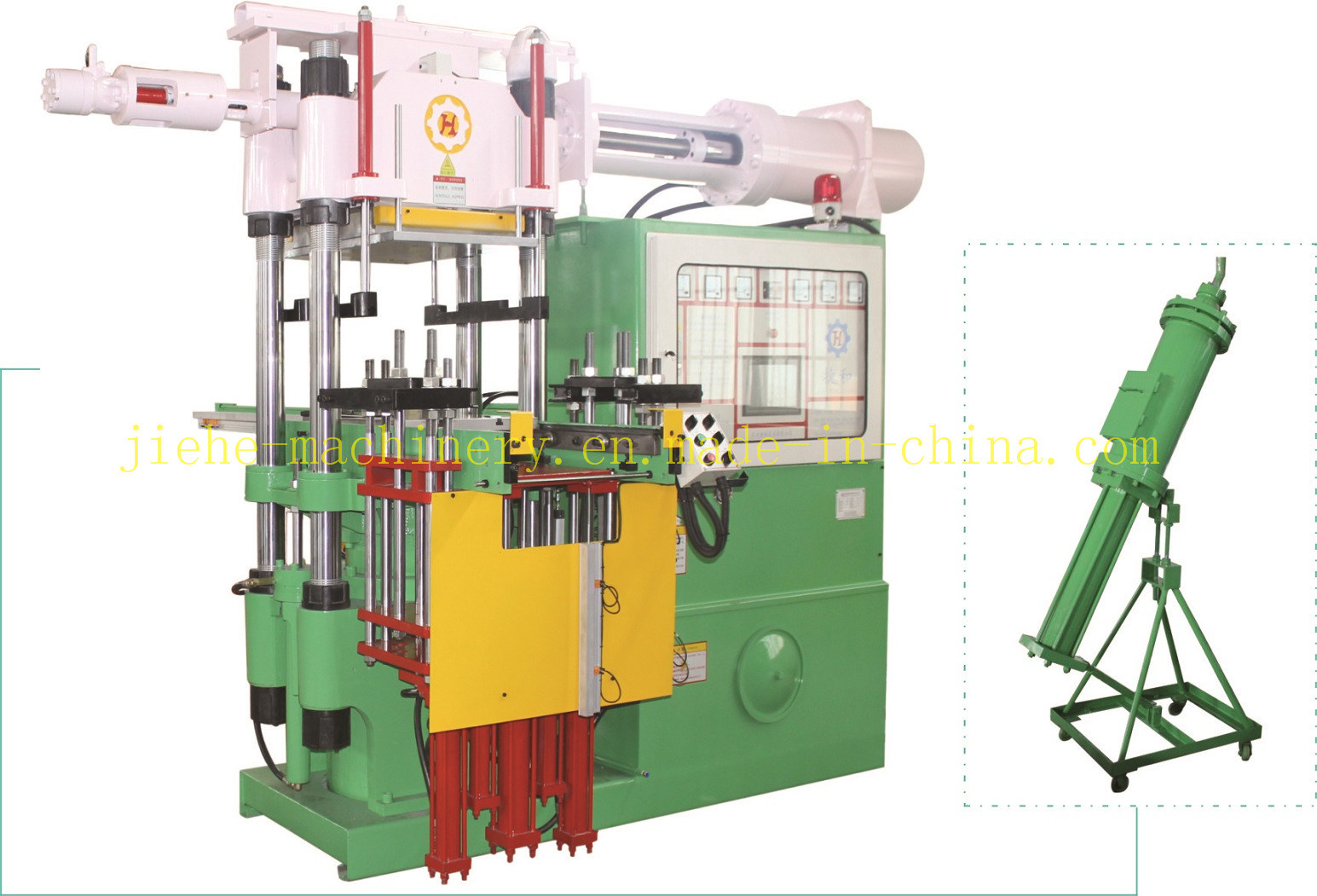 Rubber Silicone Bellow Injection Molding Machine with CE&ISO