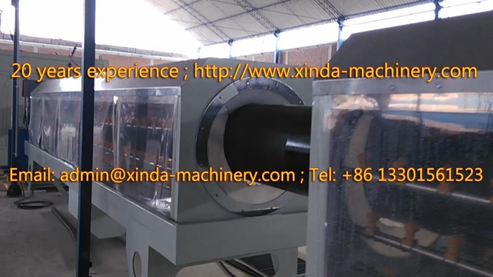 250-630mm HDPE PE PP Pipe Production Line Pipe