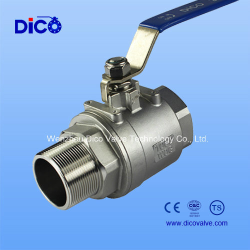 Male & Female 2PC Ball Valve with Ss304/CF8 Material (Q21F-64P)