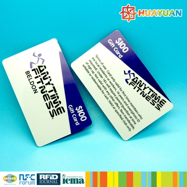 Custom PVC smart RFID 13.56MHz MIFARE Plus SE 1K Card