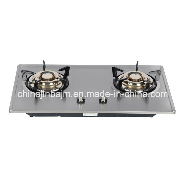 2 Burners, 730 Stainless Steel Cooktop/ Built-in Hob/Gas Hob