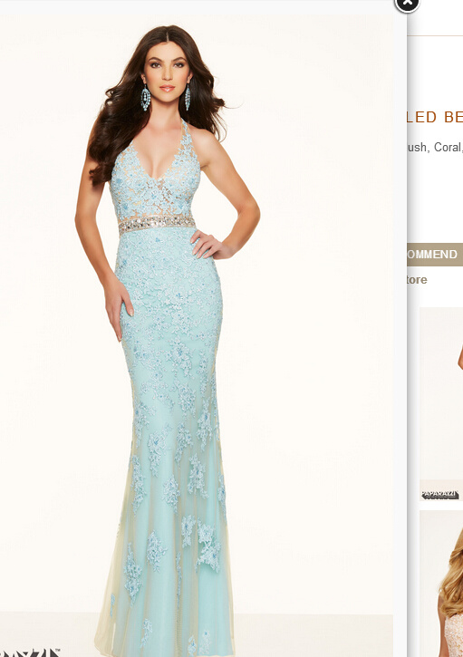 2016 Mermaid Party Prom Evening Gowns Pd98005