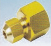 Brass Fitting Cap Nuts Liquid Distrution and One-Way Valve