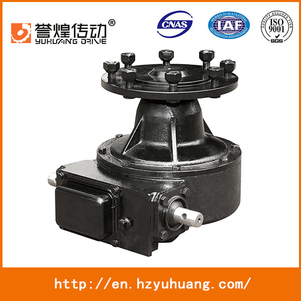 for Center Pivot Irrigation System Center Drive Gearmotor G75-43, 0.75HP, 0.55kw Irrigation Gearbox