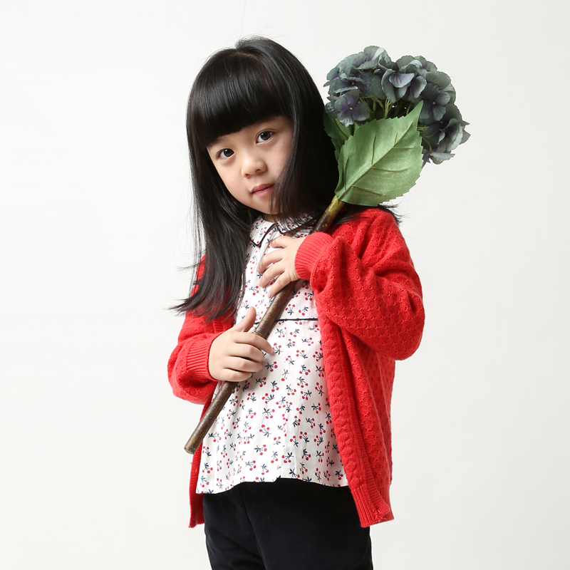Phoebee Wool Kids Clothes Girl Clothing Children′s Wear