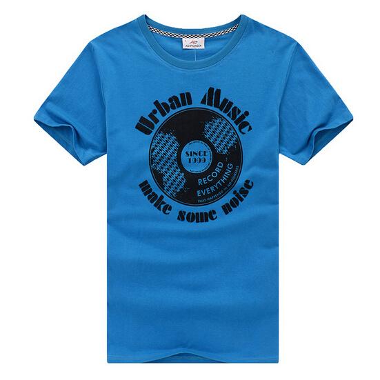 Cheap Customize Printed Men Tee Shirt