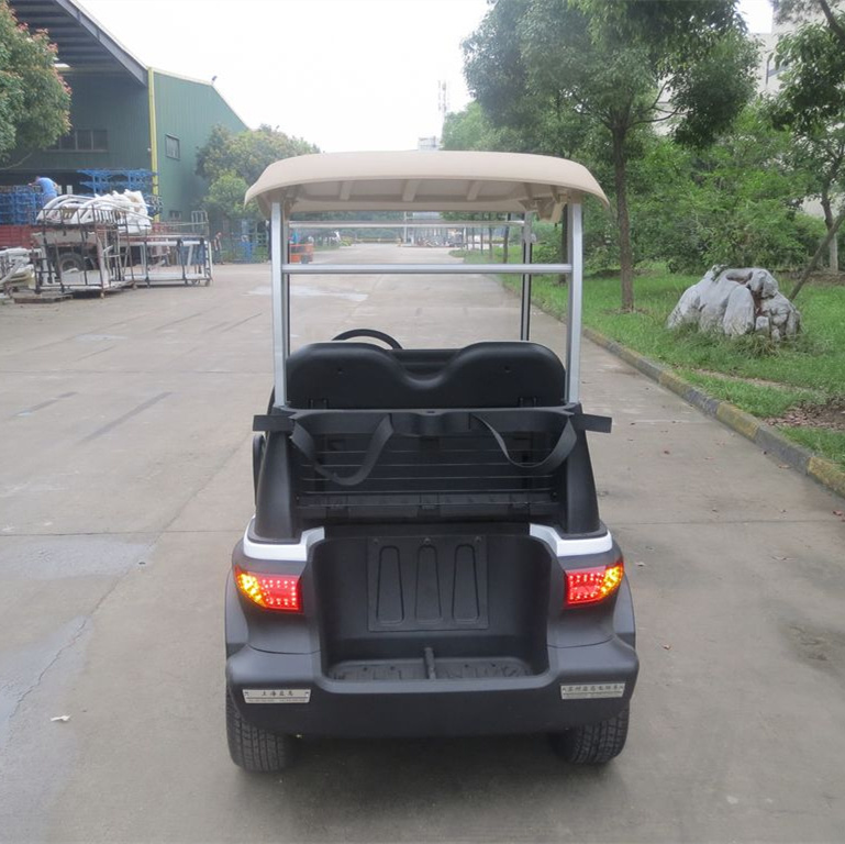 Four Wheel CE Approved New Designed Electric Golf Car with Aluminum Chassis Frame