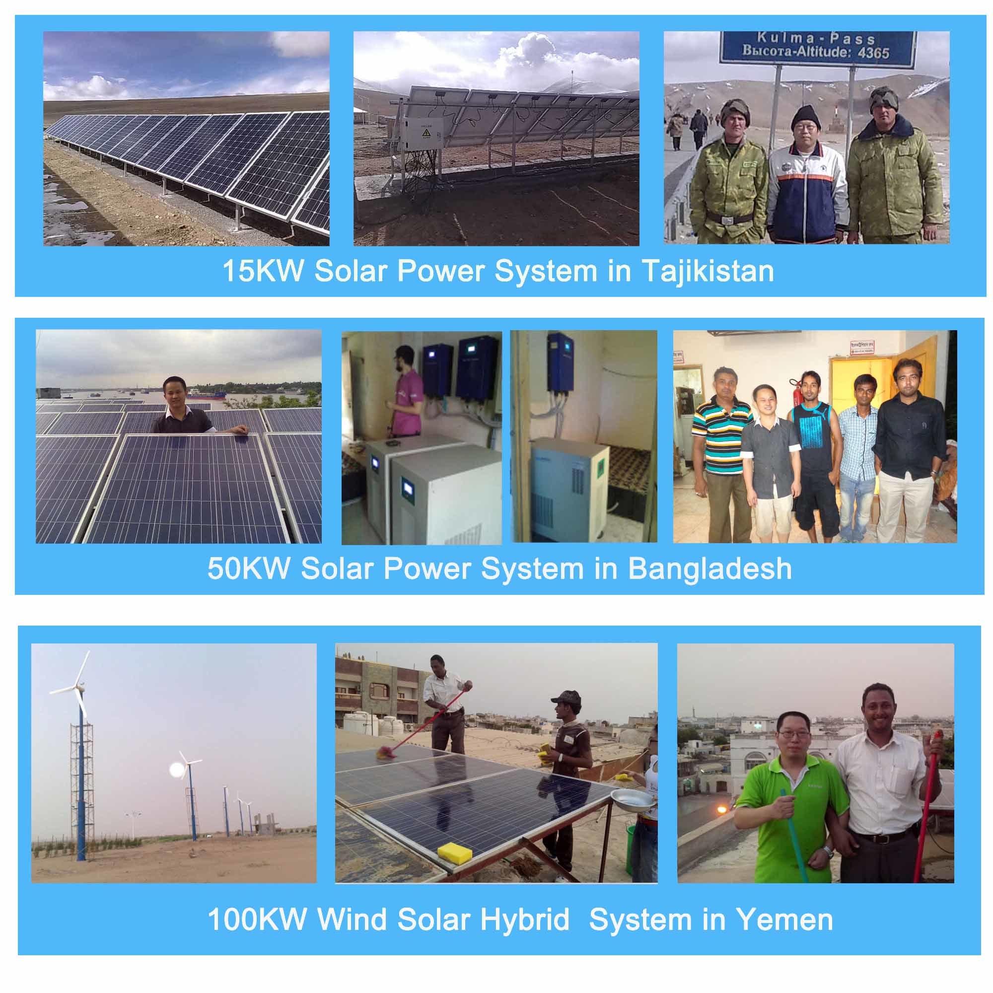 Home Solar System off Grid Solar Power System 2kw