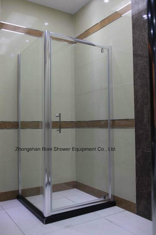 Bathroom 6mm Pivot Door Shower Enclosure