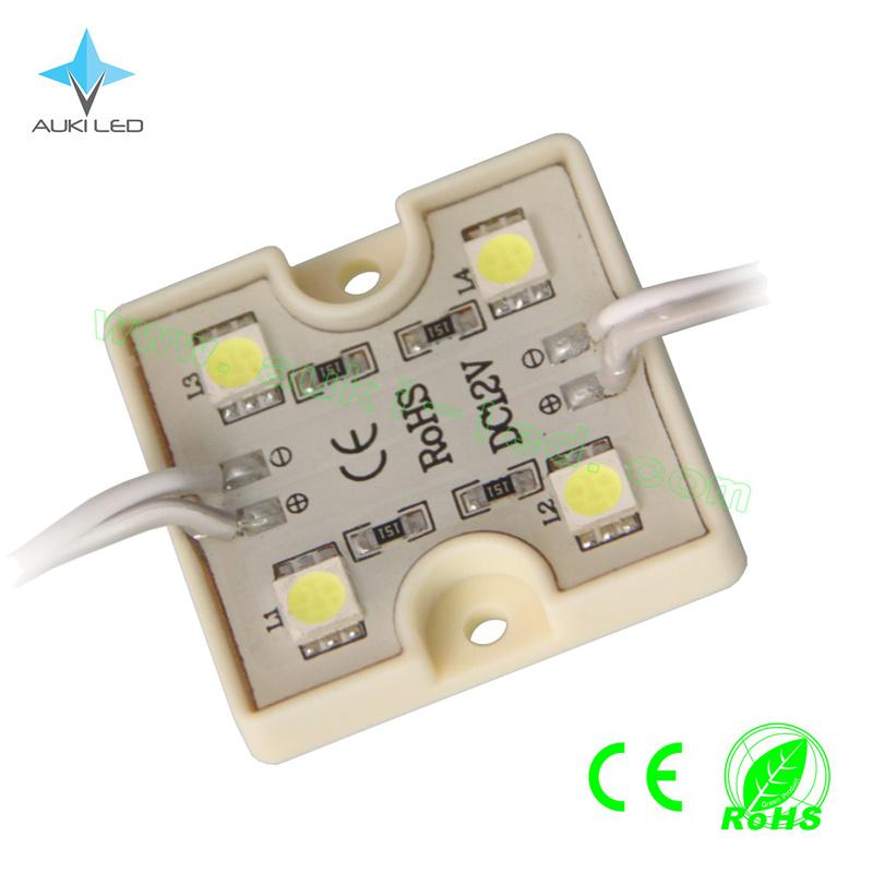 Square 4-LEDs SMD5050 PVC Module