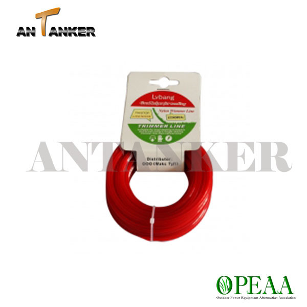 Tractor-Trimmer Line for Garden Equipment