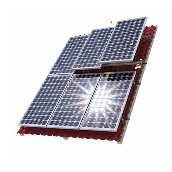 Leading Solar PV Panel Mounting System for Pitched Tile Roof