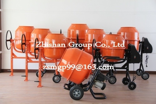 Cm200 (CM50-CM800) Portable Electric Gasoline Diesel Concrete Mixer