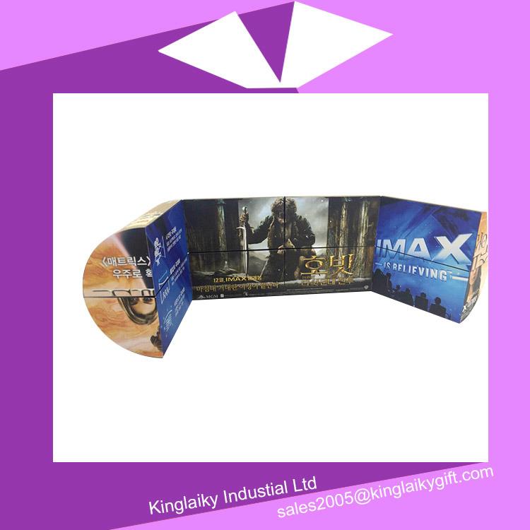 Folding Cylinder Magic Cube Calendar with Branding Mc016-004