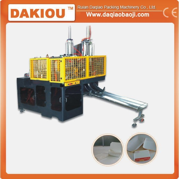 Full-Automatic Paper Lunch Box Forming Machine