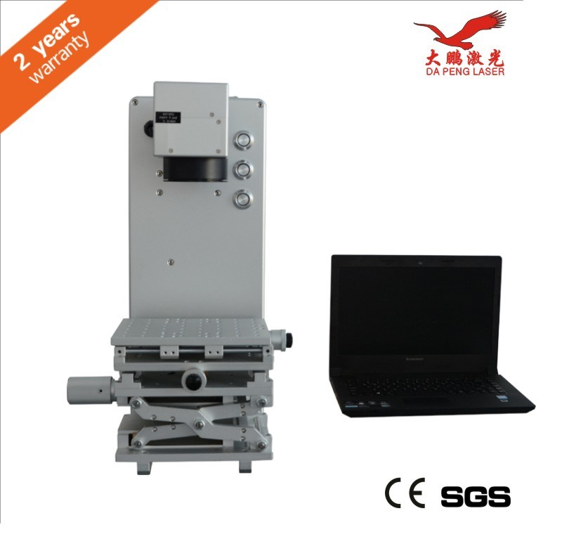 10W 20W Metal Ipg Fiber Laser Marking Machine for Ring, Plastis, PVC, Metal and Non-Metal