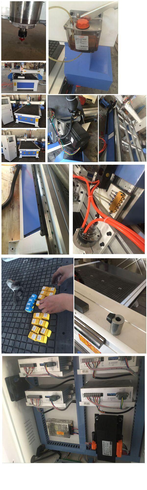 3D Embossment Wooden Furniture Door Woodworking CNC Router Machine