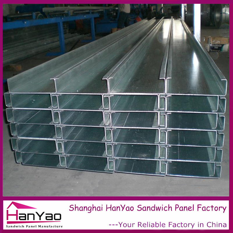 High Quality China Made Steel Galvanized C Purlin