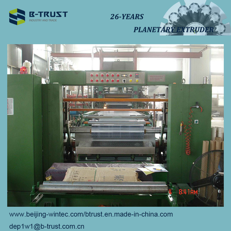 Wood Grain PVC Laminating Film Calender Line
