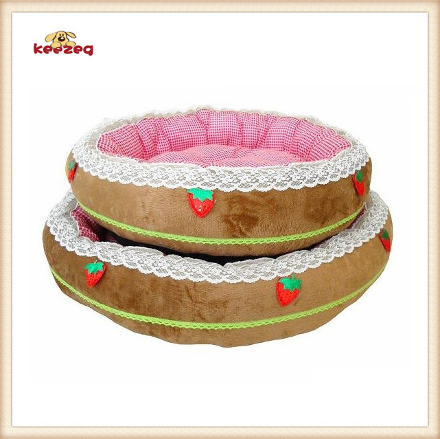 Small Strawberry Style Dog Bed & Pet Bed