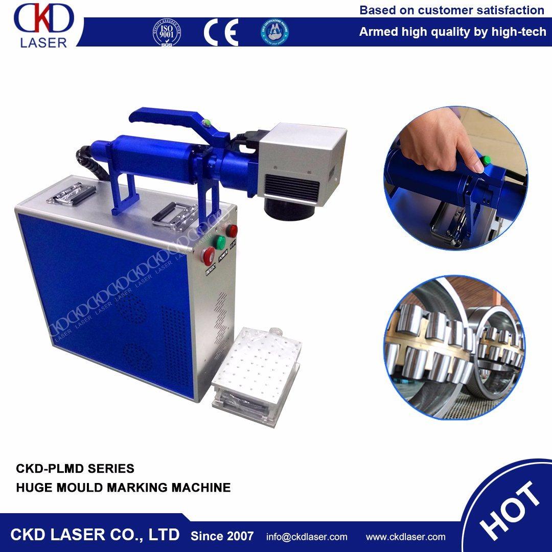 Handly Moving Operation Fiber Laser Marking Machine for Huge Mould