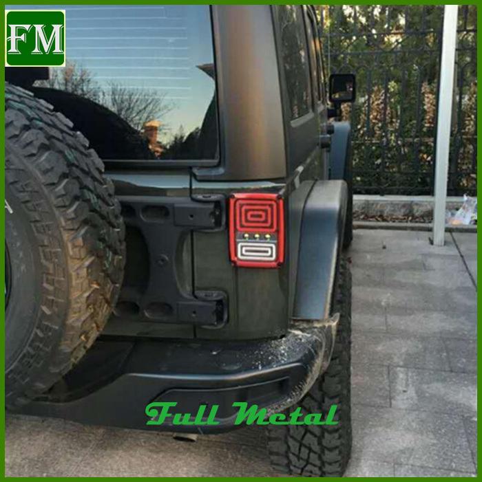 for Jeep Wrangler Jk LED Brake Tail Lights Rear Signal Reverse Lamp