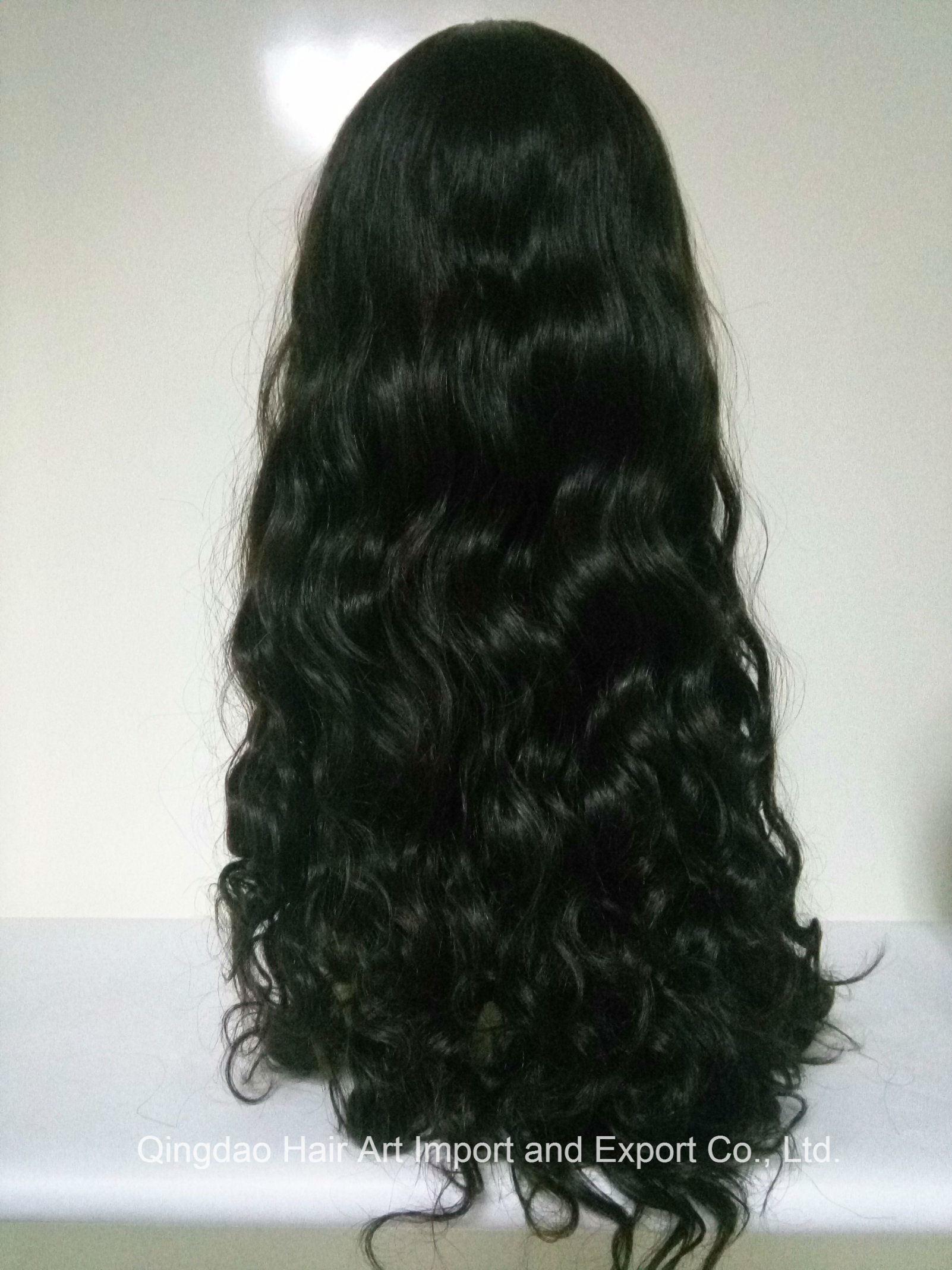 "24"" Mongolian Virgin Hair Silk Top Body Wave Jewish Wig"