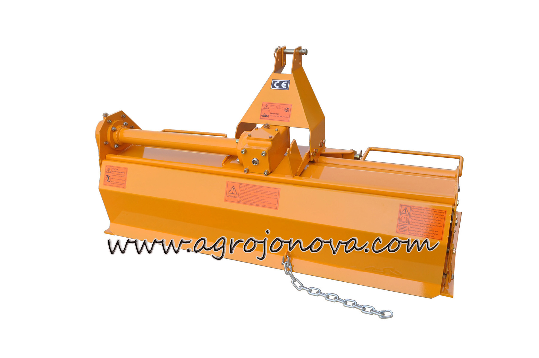 Tractor 3-Point Rotary Tiller Pto Shaft Tl Ce
