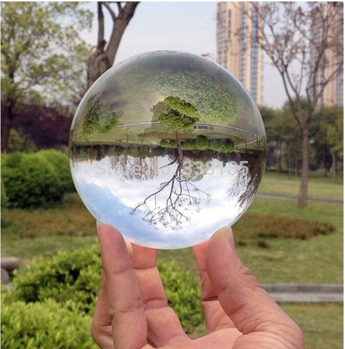 Feng Shui Clear Magic Glass Crystal Ball for Decoration
