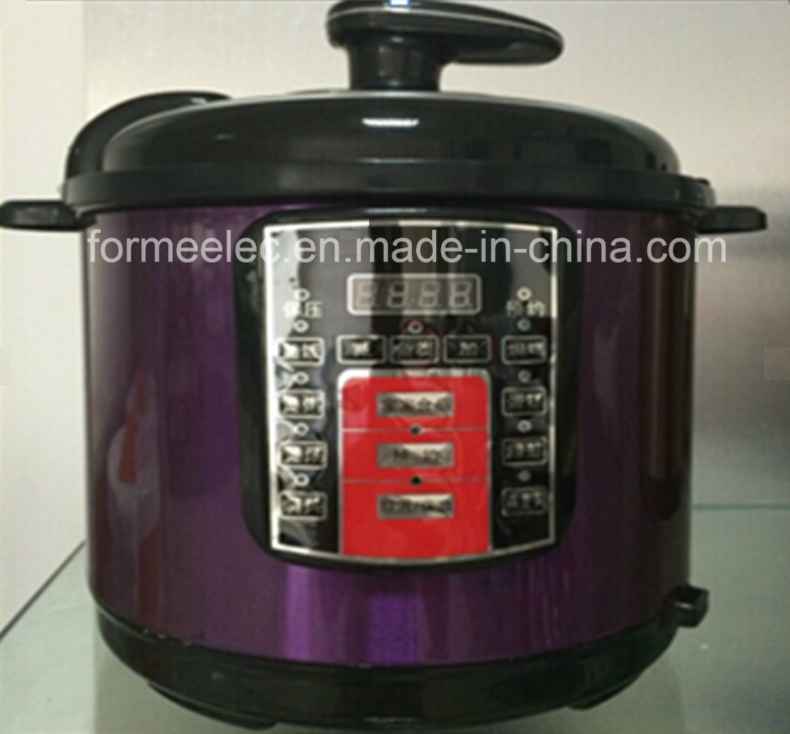 6L Electric Rice Cooker 1000W Cyliner Pressure Cooker