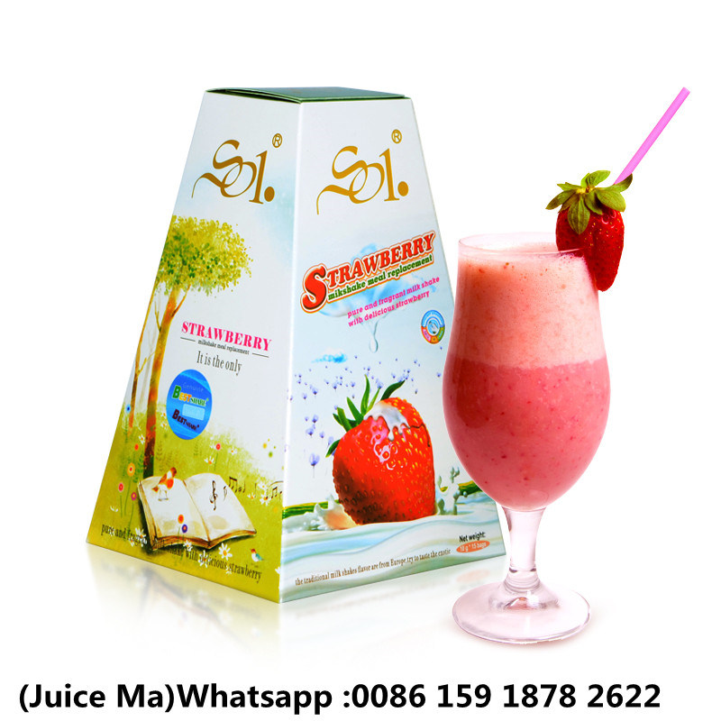 Weight Loss Strawberry Milk Shake Loss 4-8kg a Month
