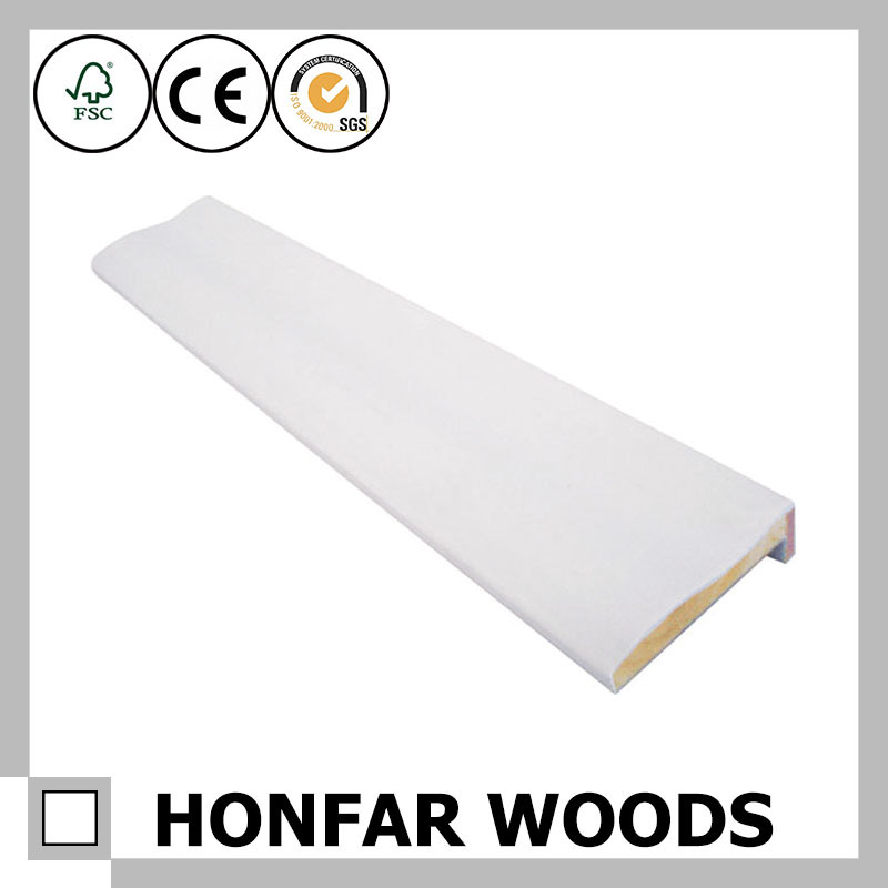 White Primer Wood Door Frame Window Frame