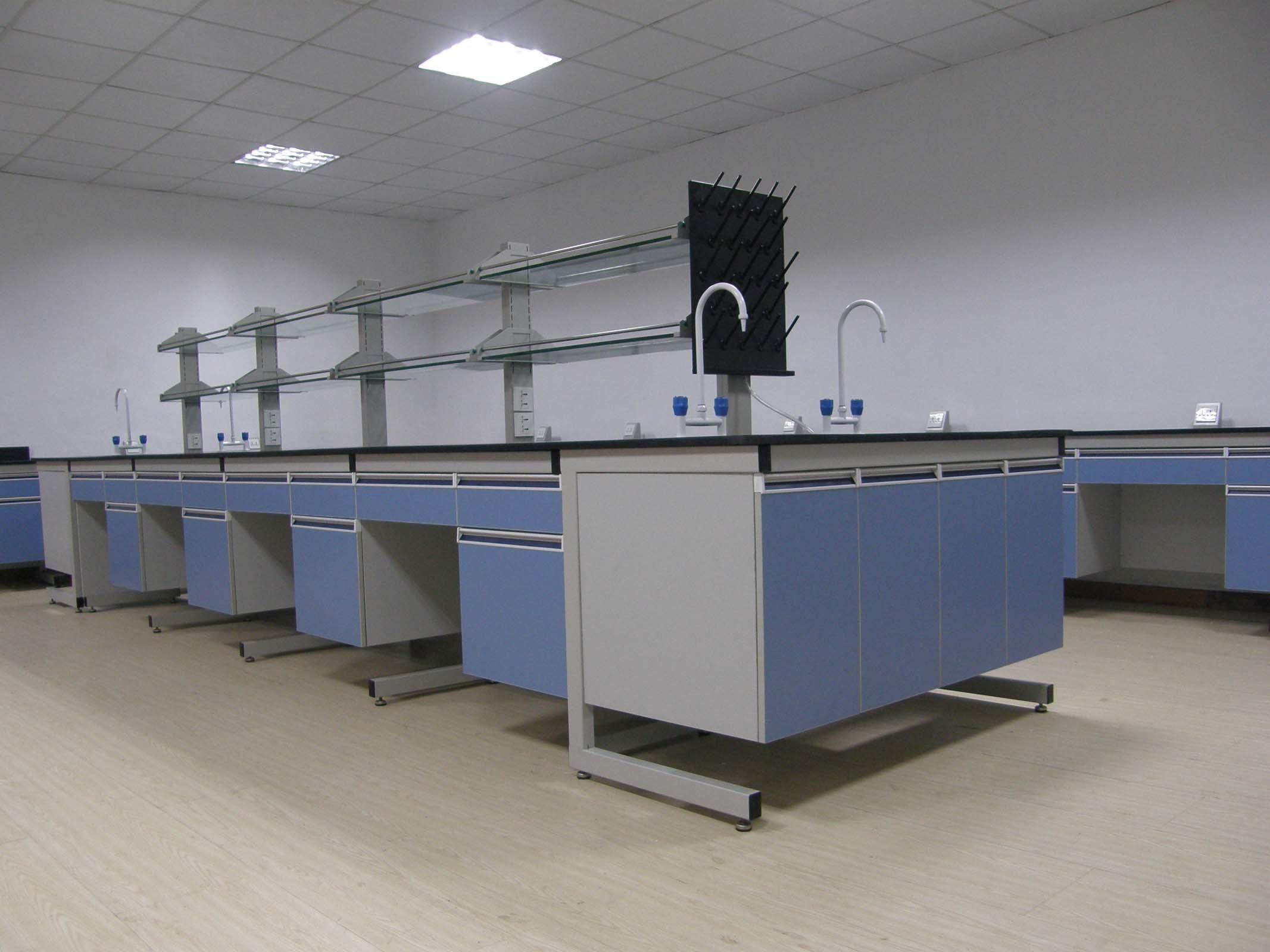 Wood and Steel Lab Furniture (Saudi Arab project)