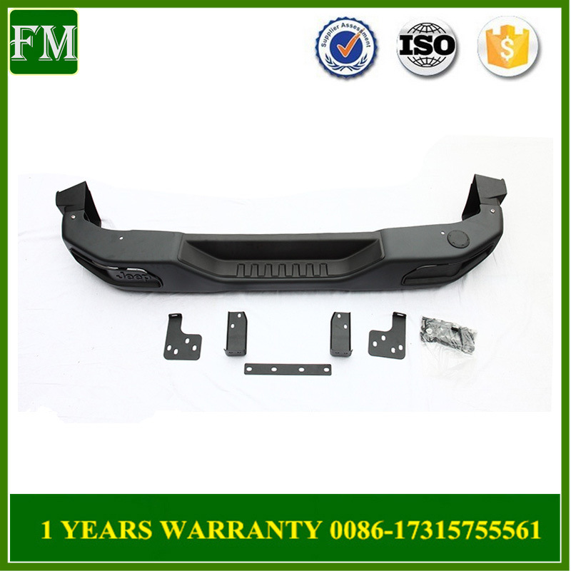 10th Anniversary Rear Steel Bumper for Jeep Jk Wrangler 4*4