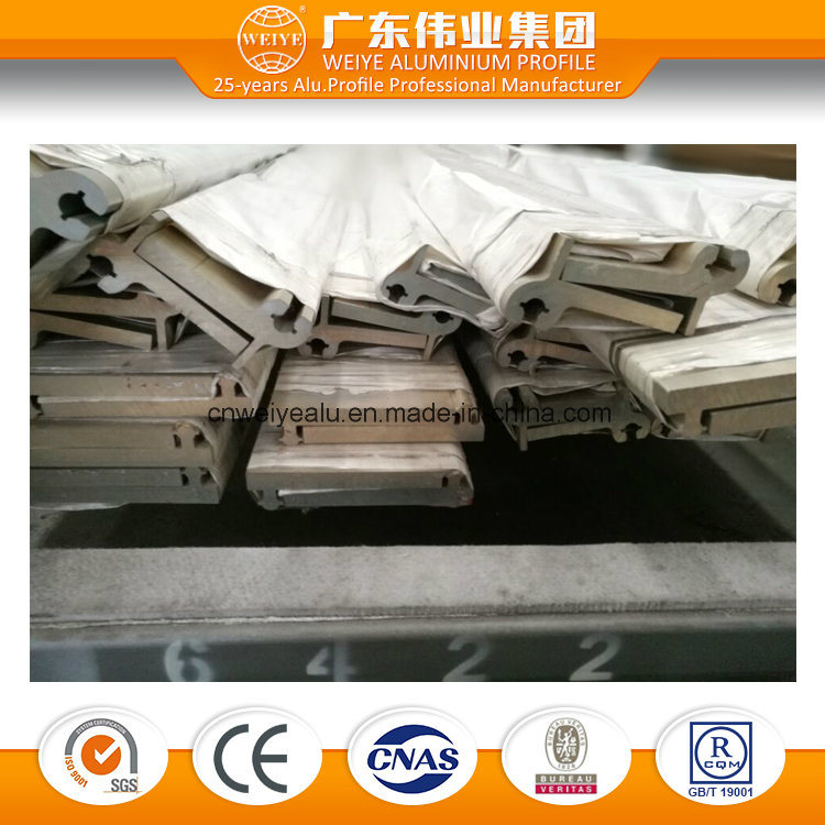 Sliver Anodizing Aluminium Extruded Profile