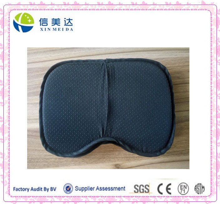High Quality Soft Memory Foam Black Cushion