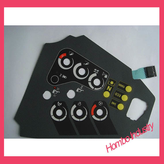 Customizing Digital Printing Graphic Tactile Membrane Switch