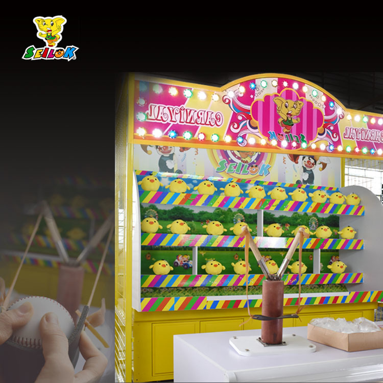 Carnival Game Booth-Angry Toy