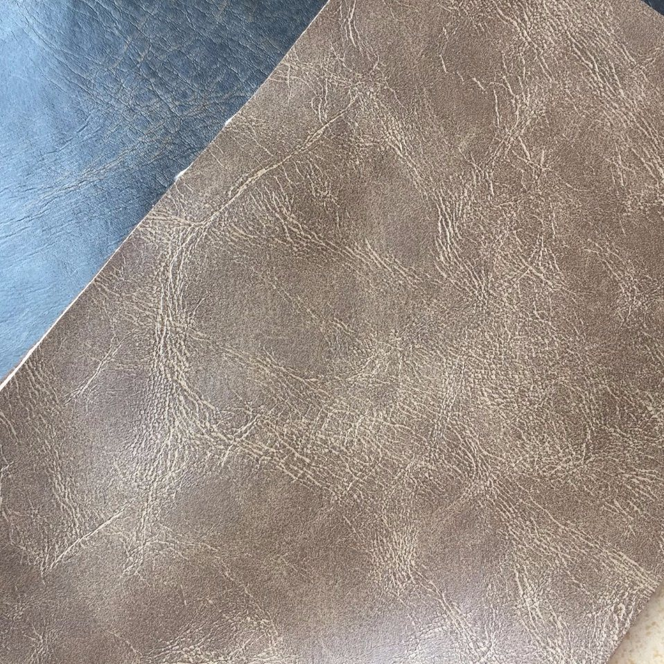 Flame Retardant Synthetic PU Leather for Furniture Making