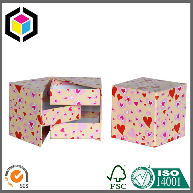 Customer OEM Irregular Jewelry Storage Presentation Gift Box
