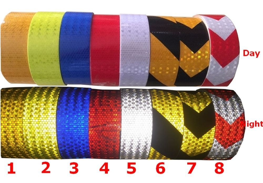 Red/White Conspicuity Reflective Tape