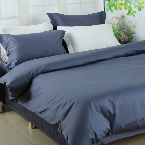 Wholesale Silk Soft 100% Cotton Dobby Bed Sheet