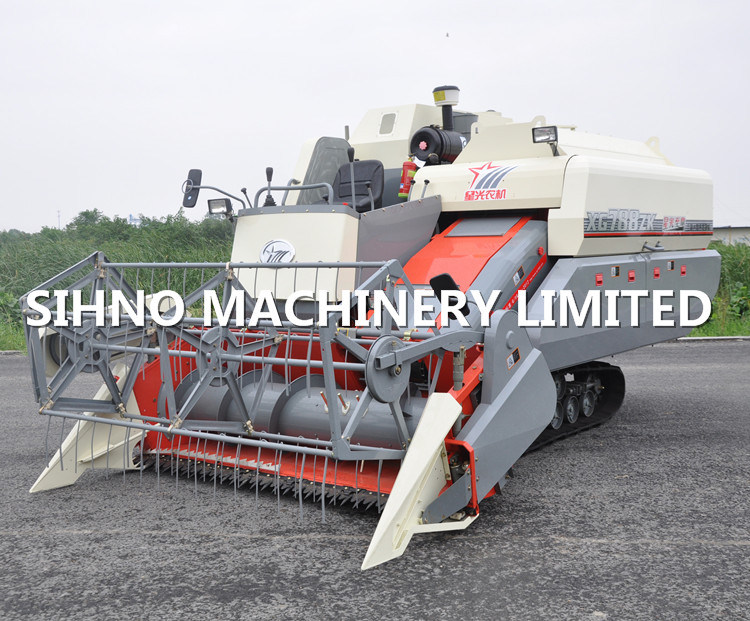 Lucky Star Combine Harvester 788zk Rice Combine Harvester