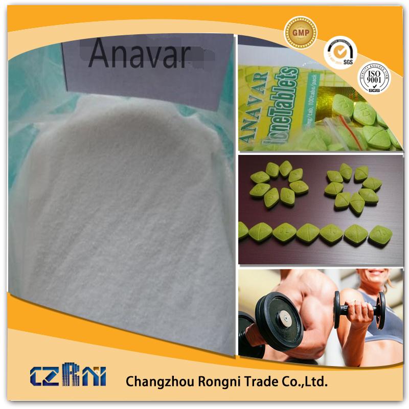 Oral Tablets Oxandrolones Anavar 10mg/Tabs 50mg/Tabs CAS: 53-39-4