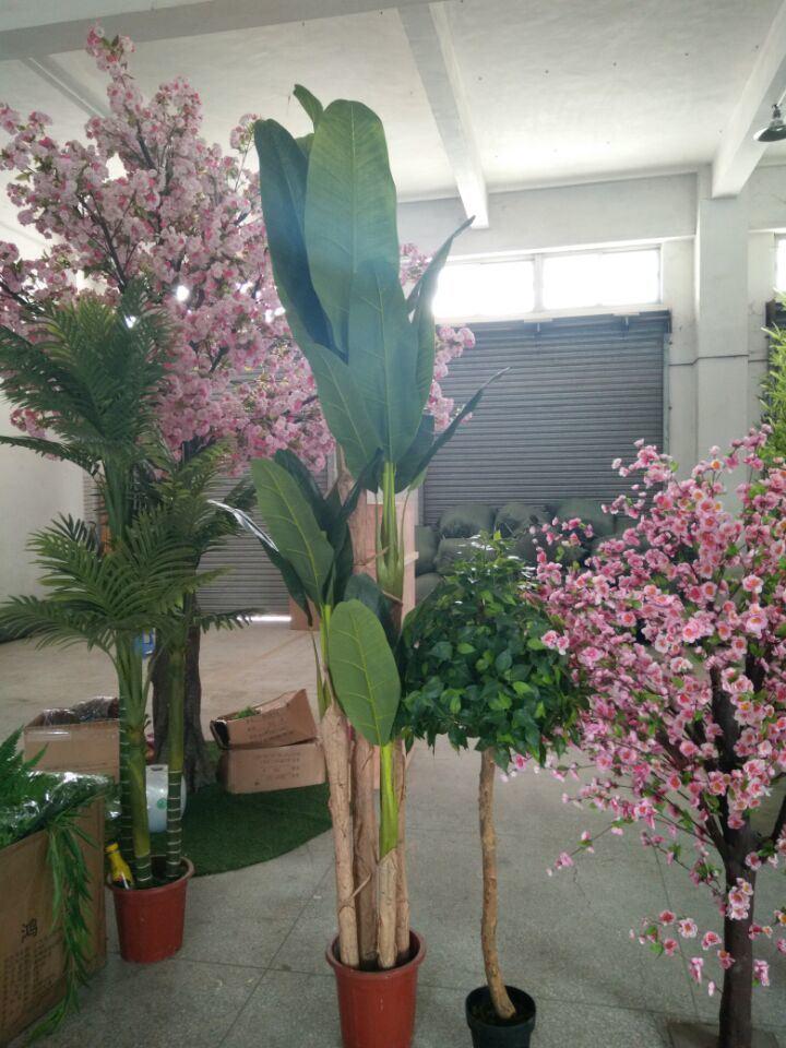 Artificial Banana Bonsai Trees