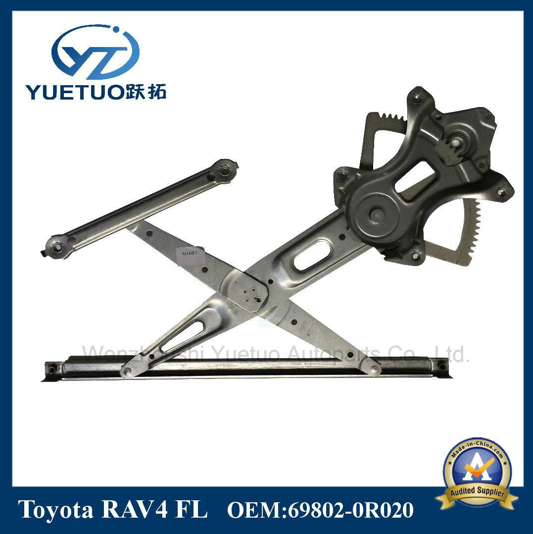 Auto Parts Window Regulator RAV4 Front Left OEM 69802-0r020