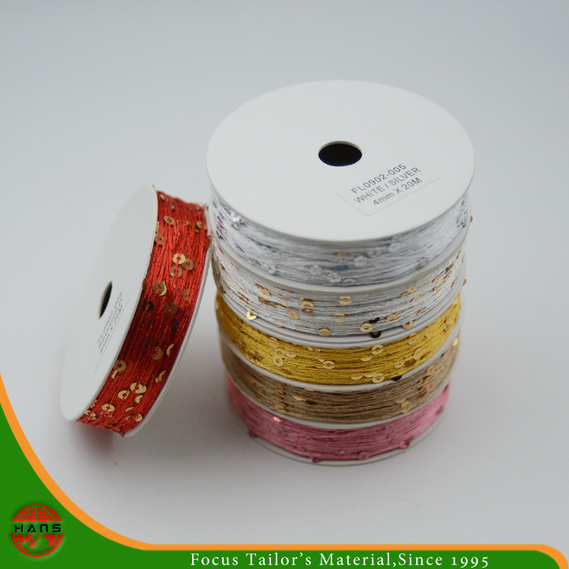Sequin Rope with Roll Packing