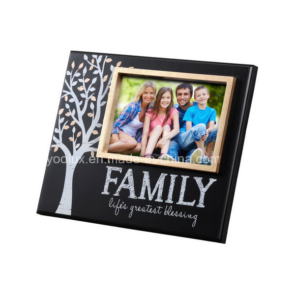 Plastic Frame Home Decoration Craft Promotion Gift Photo Frame