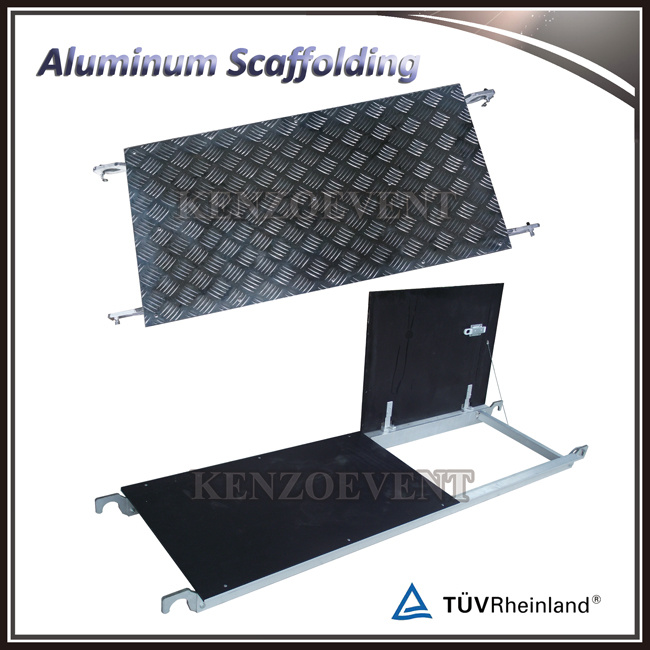 Mobile Aluminum Folding Scaffolding for Construction